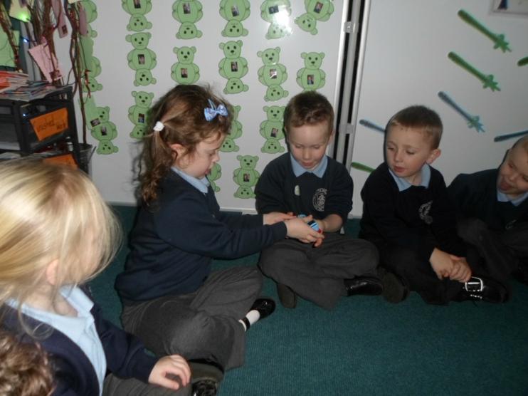 The children meeting Thomas