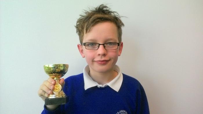 Dylan - 100m Overall Winner Age 10 WINNER!