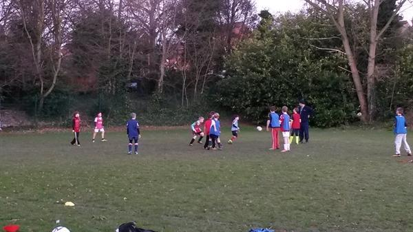 Key Stage 2 Football Club