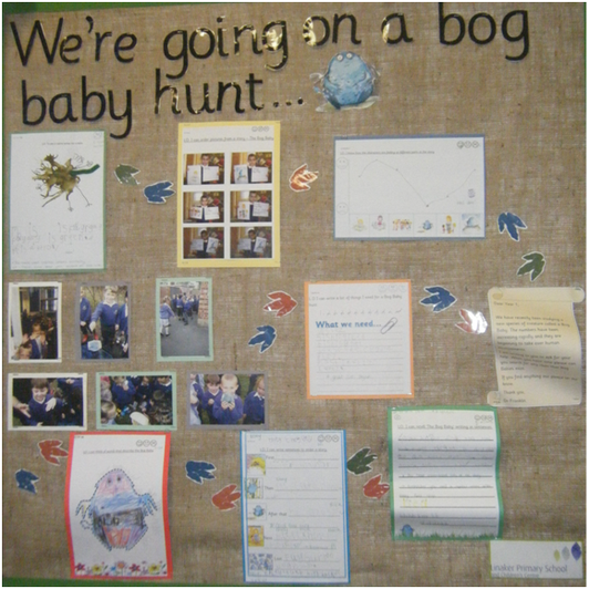 Our Topic Display - The Bog Baby