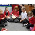 We shared ou yam with year 2.