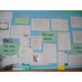Reception: Writing Display