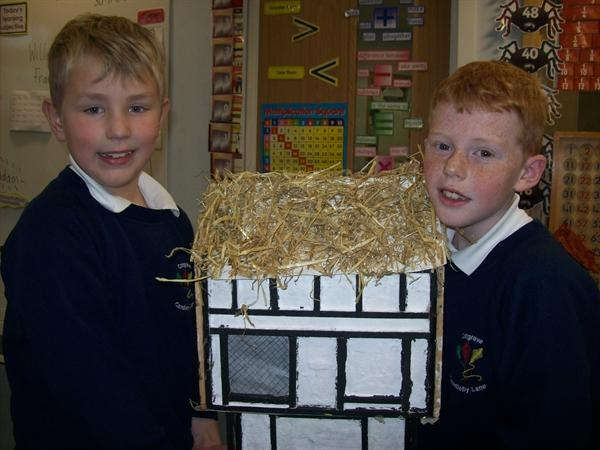 Austin and Craig, the master builders!