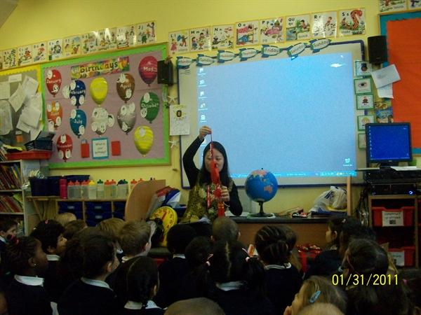 Learning about Chinese New Year
