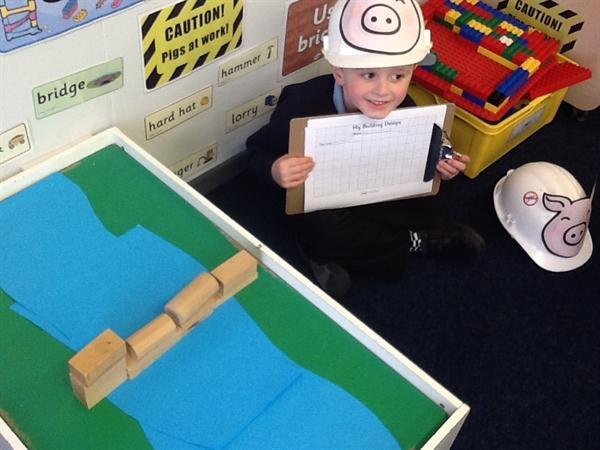 We have been building smaller bridges too!