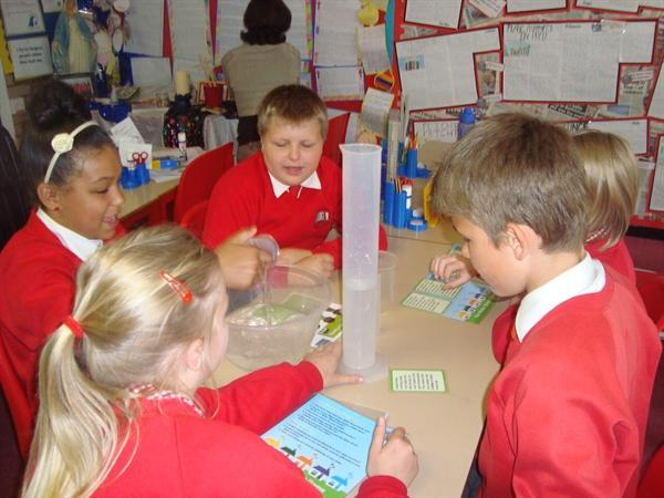 Year 6 learning how to save water