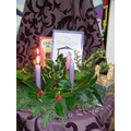 Our Advent Prayer Area