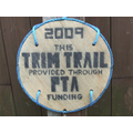 Official Trim Trail Sign