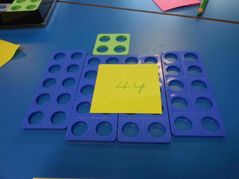 Place value using Numicon