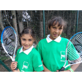 Girls in Year 4 Tennis Team