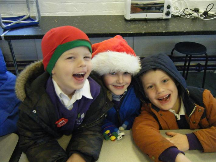 Christmas fun with our friends