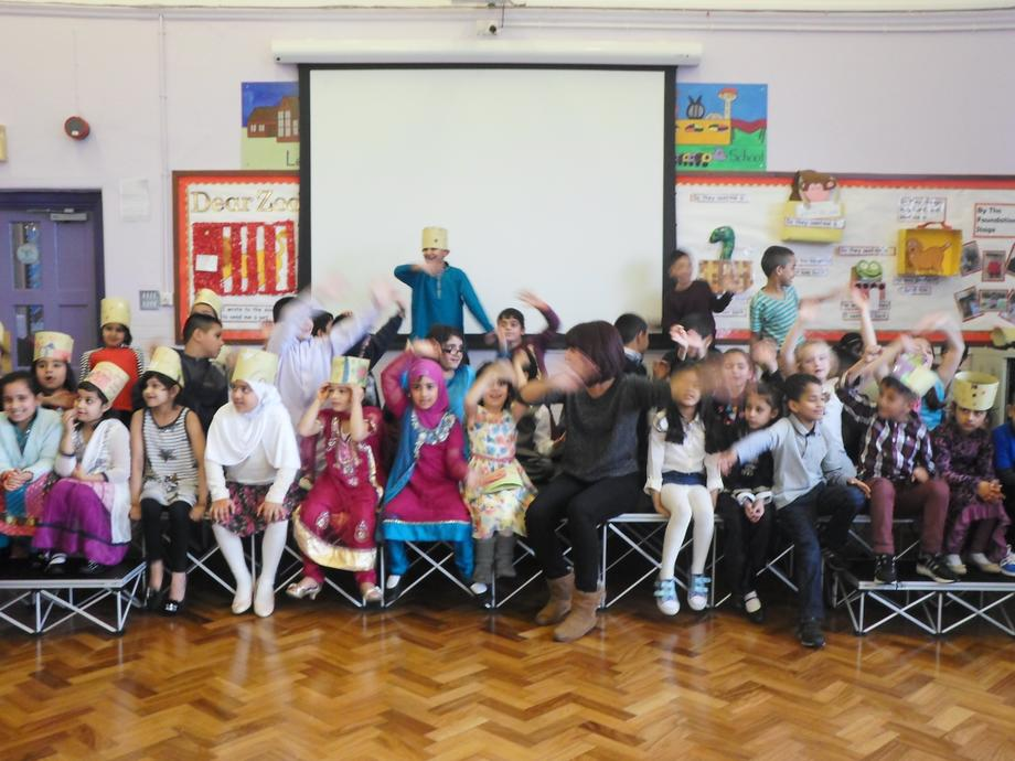 EID MUBAREK! everyone from year 2