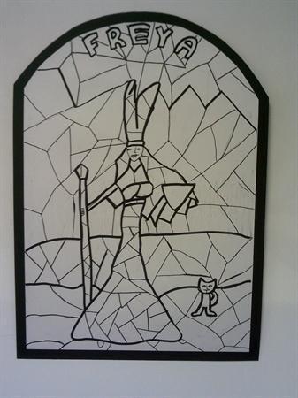 Viking Art: Freya