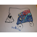 Designing vehicles in child-initiated learning.