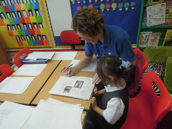 Mrs Toms, Emotional Learning Support
