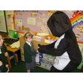 Smartie gave each class a mascot.