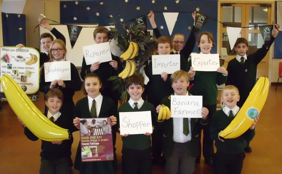 Proud to support Fairtrade in Whitchurch