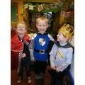 A princely trio