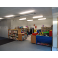 our open plan library