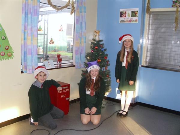 Some of the Christmas posties!