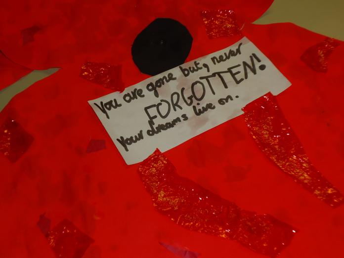 Messages for the fallen