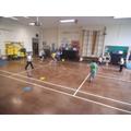We like whole school tournaments, like dodgeball.
