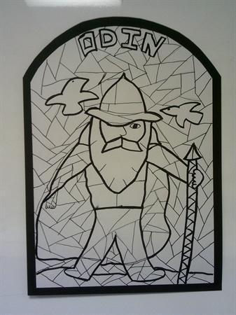 Viking Art: Odin