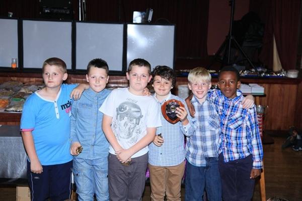 Timberley Boys Award