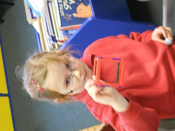 We have been learning about 3d shapes.