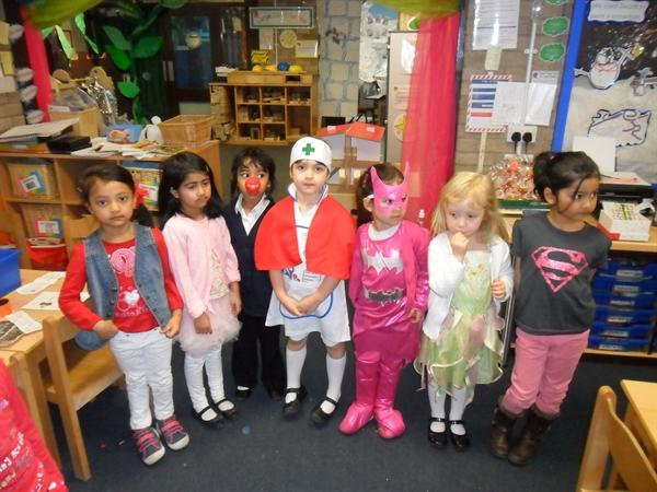 Red Nose Day Super Heroes
