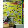 Literacy working walls