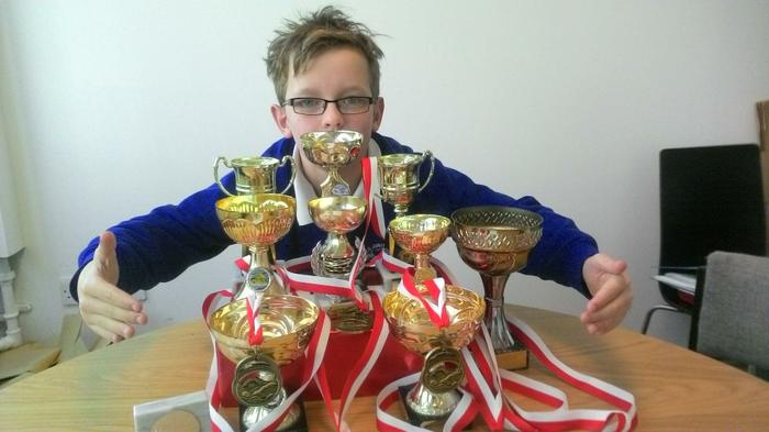 Dylan - Swimming Medal stash Age 10