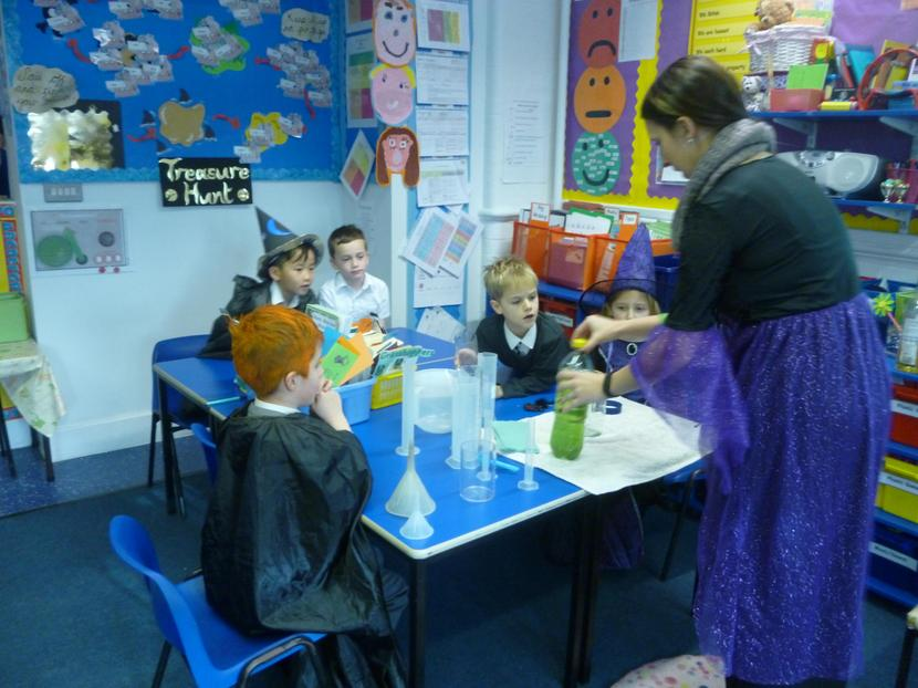 Making our potions