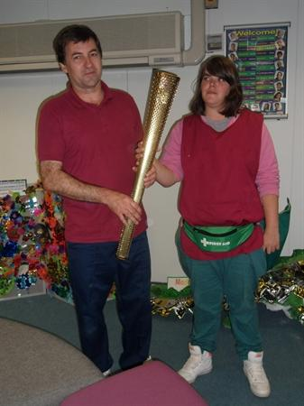 Official Olympic torch comes to Newlands
