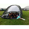 Year 6 lived in tents for the day.