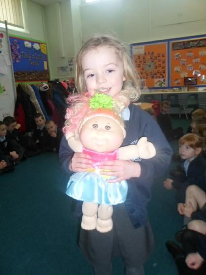 Meet Eden the Cabbage patch doll.