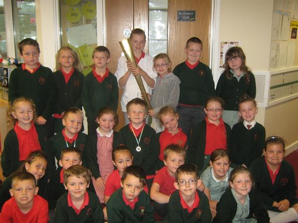 Olympic Torch comes to Millington!
