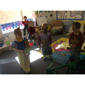 Acting out 3 bears story