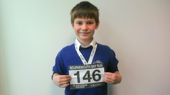 Daniel - Bmth Fun Run - 2nd quickest!