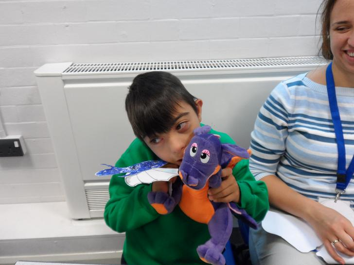 ...and this is 4SKB's class pet, Sparky!