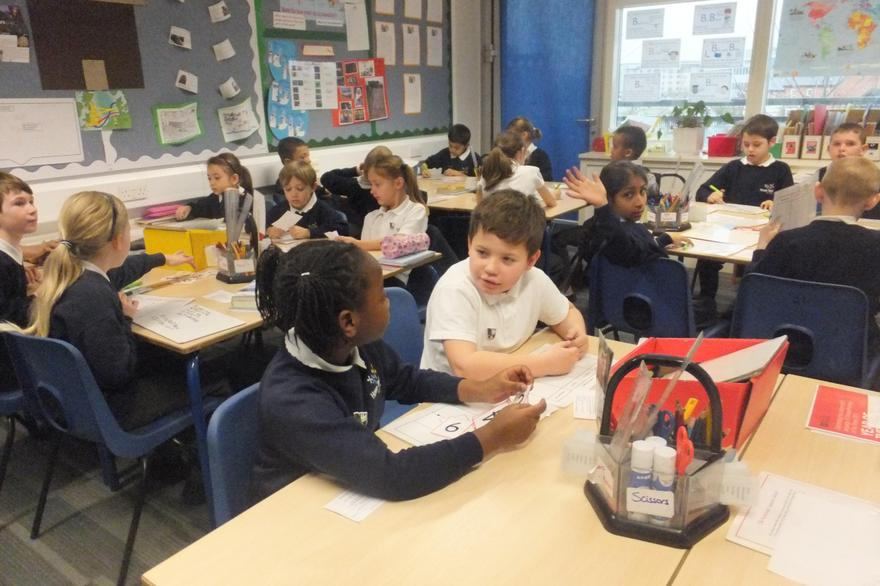 Shared talk means shared learning in Y4