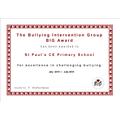 The BIG Award 2014-2015