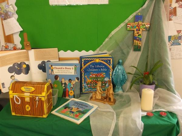 Our Class Worship & Prayer Table