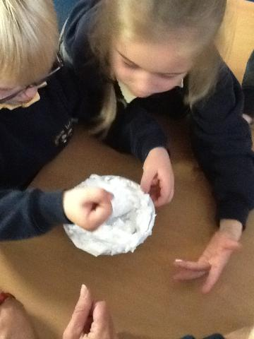 Add bicarbonate of soda to turn it into snow