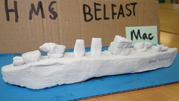 Handmade HMS Belfast