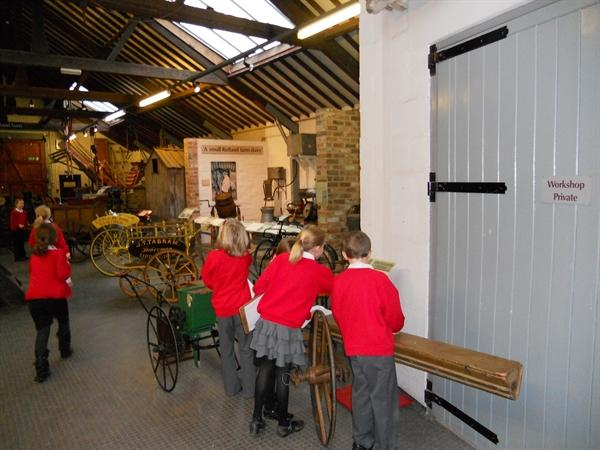 We really enjoyed our visit to Oakham Museum!