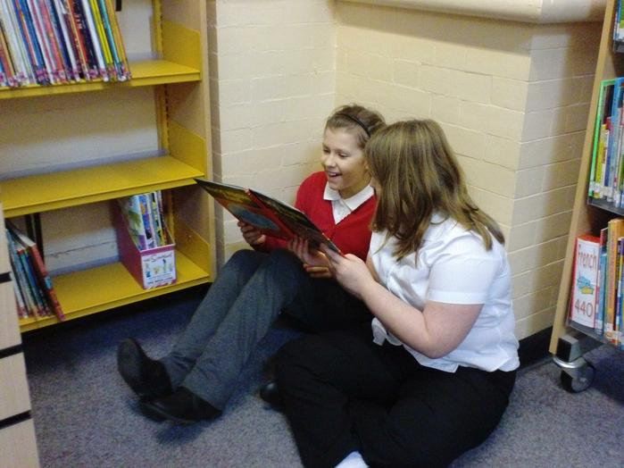 Reading for pleasure!