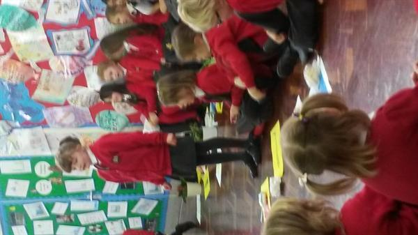 Our amazing assembly!