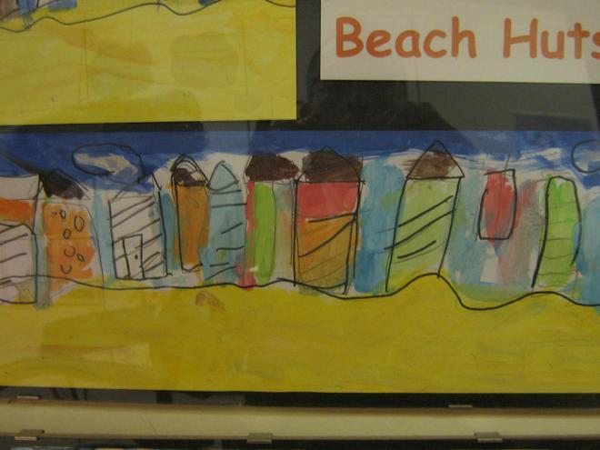 Year 1 & 2 Beach huts