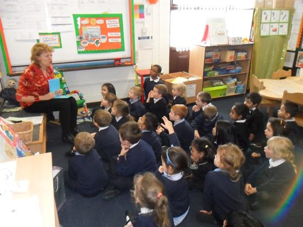 We enjoy learning French with Madame Fraser.